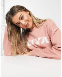 In The Style X Gemma Collins Motif Sweat - Pink