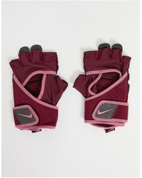 Nike Women's Premium Fitness Gloves - Pink