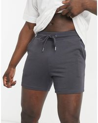 ASOS Jersey Skinny Shorts - Grey