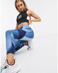 Reebok Leggings da allenamento - Blu