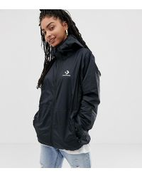 8ea5e915f196e8 Converse Oversized Exclusive Yellow Padded Jacket in Metallic - Lyst