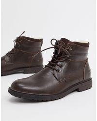 Burton Коричневые Ботинки С Подкладкой Из Овчины -коричневый