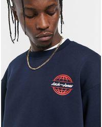 Jack & Jones - Originals - Sweater Met Rond Logo - Lyst