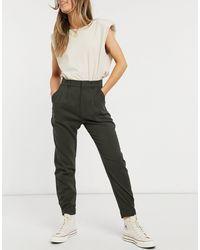 Abercrombie & Fitch Pantalones cargo utilitarios negros