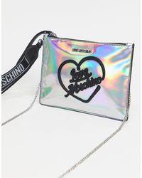 Love Moschino Hologram Polstasje - Metallic