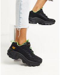 Caterpillar Chunky sneakers en negro Intruder