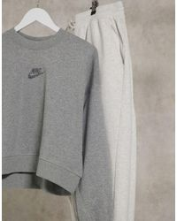 Nike - Серый Свитшот Move To Zero - Lyst