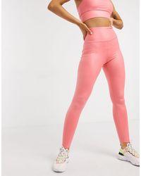 South Beach Leggings en rosa muy brillante