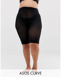 ASOS Asos Design Curve Anti-chafing Shorts - Black