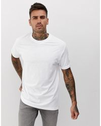 check out c9487 35444 T-shirt ampia bianca - Bianco