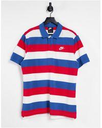 Nike Stripe Polo - Multicolour