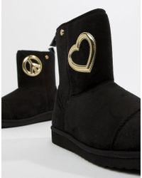 Love Moschino Ботинки - Черный