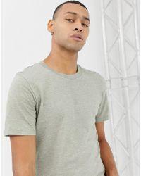 SELECTED - Melange T-shirt - Lyst