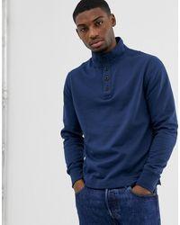 J.Crew Mercantile Mockneck Sweatshirt - Blue