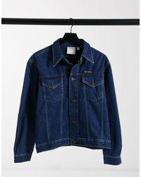 Calvin Klein Est 1978 - Denim Truckerjack - Blauw