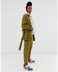 ASOS Safari Suit Pants - Green