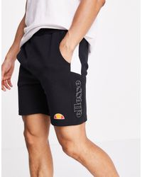 Ellesse Reflective Logo Shorts - Black