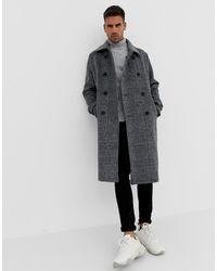 nouveau produit 10df6 7616c Manteaux Bershka homme à partir de 50 € - Lyst