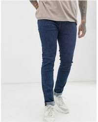 PS by Paul Smith Reflex Stretch Skinny Jeans - Blue