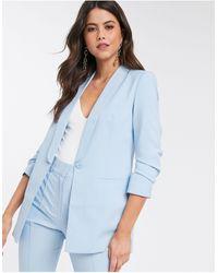 ASOS Mix & Match Tailored Suit Blazer - Blue