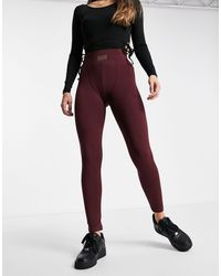 Missguided Msgd Co-ord legging - Red
