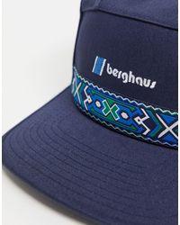 Berghaus Темно-синяя Кепка Aztec-темно-синий