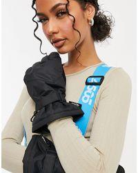 ASOS 4505 Черные Утепленные Горнолыжные Перчатки -черный - Многоцветный