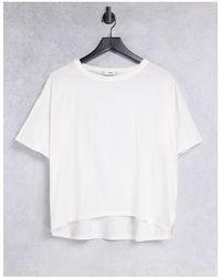 Mango Organic Cotton Oversized T-shirt - White