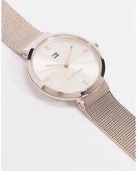 Tommy Hilfiger Золотисто-розовые Часы 1782218-розовый Цвет