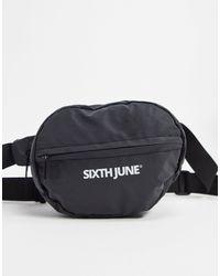Sixth June Bum Bag - Black
