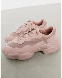 ASOS Divine Chunky Trainers - Natural