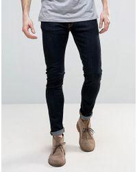 9b159d8bab90 Nudie Jeans - Nudie Skinny Lin Super Skinny Jeans Dry Deep Orange - Lyst