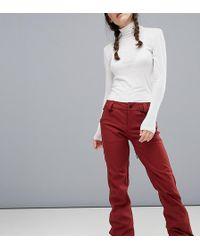 Volcom - Species Stretch Ski Trouser In Red - Lyst