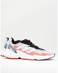 adidas Originals Белые Кроссовки С Красной Отделкой Adidas Training X9000l4-белый