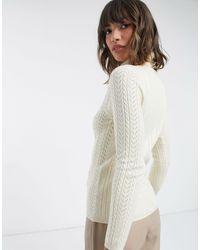 Fashion Union High Neck Sweater - Multicolor