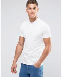 Weekday Jam Polo T-shirt - White