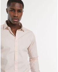 Bolongaro Trevor Chemise classique slim - Rose