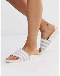 adidas Originals Adilette - Slider grigie - Grigio