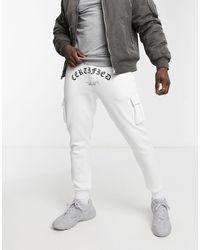 Burton Oversized joggers - White