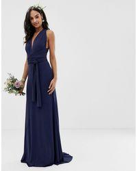 TFNC London - Bridesmaid Exclusive Multiway Maxi Dress - Lyst