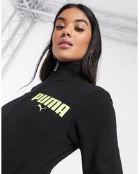 PUMA Full Zip Track Jacket - Black
