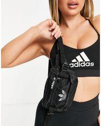 adidas Originals Adidas Training Logo Bum Bag - Black
