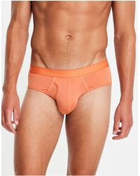 ASOS Microvezel Onderbroek - Oranje