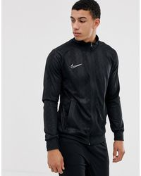 Nike Football Nike Soccer Academy Track Top In Black
