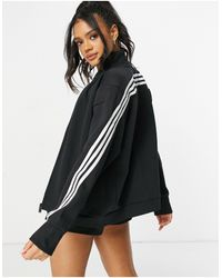 adidas Originals Adidas Training 3 Stripe Jacket - Black