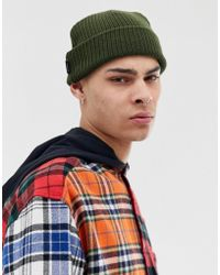 Dickies - Fonda Fisherman Beanie In Dark Green - Lyst