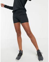 Reebok Черные Короткие Шорты Training-черный