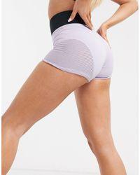 Nike Nike Pro Training Aeroadapt 3 Inch Shorts - Purple