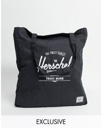 Herschel Supply Co. Esclusiva - Borsa shopping nera - Nero