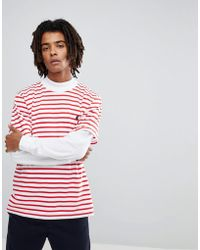Carhartt WIP - Champ T-shirt In Red - Lyst
